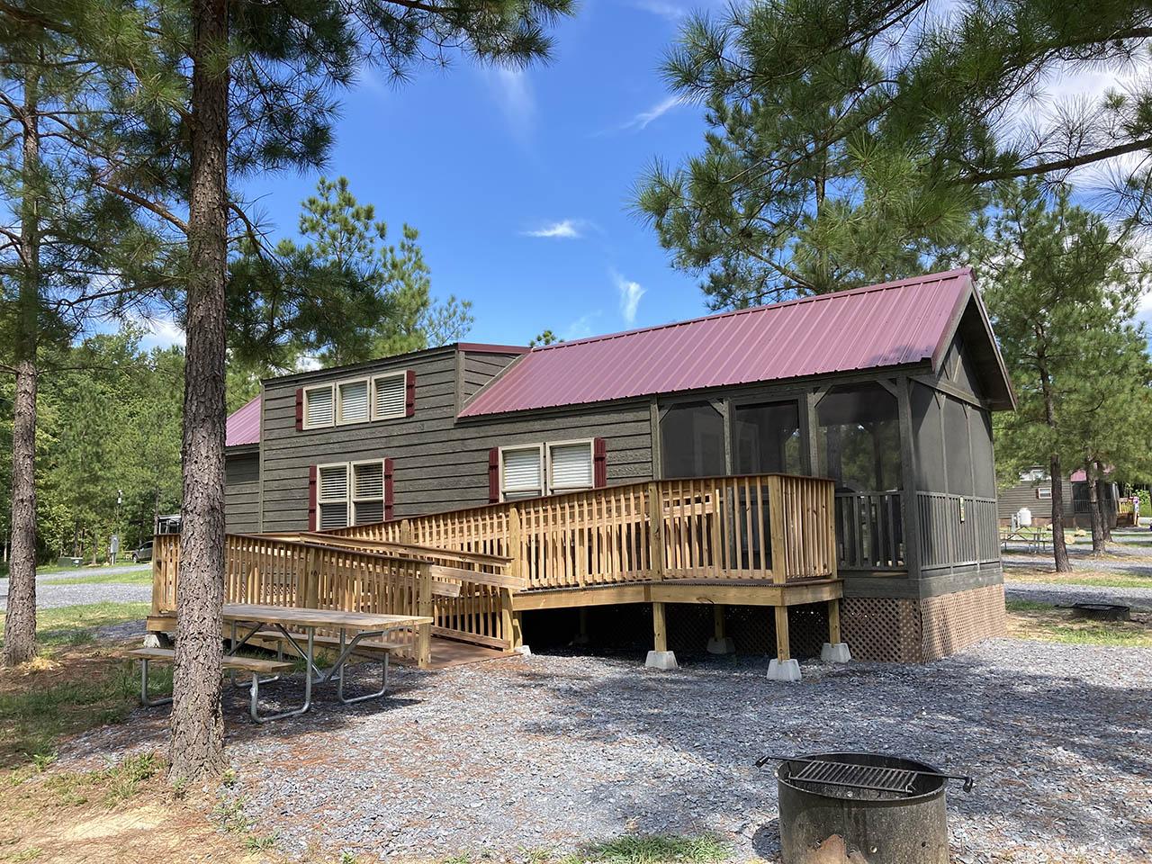 exterior ada cabin