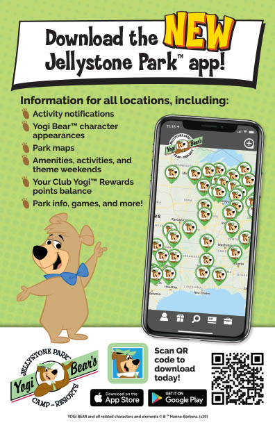 jellystone park app for android and apple